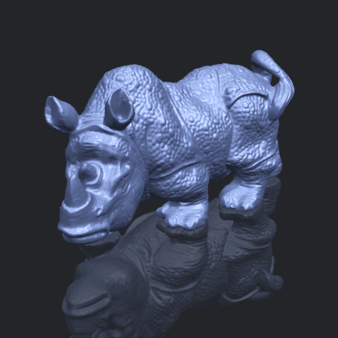 02_TDA0312_Rhinoceros_iv_FemaleB00-1.png Download free STL file  Rhinoceros 05 Female • 3D print object, GeorgesNikkei