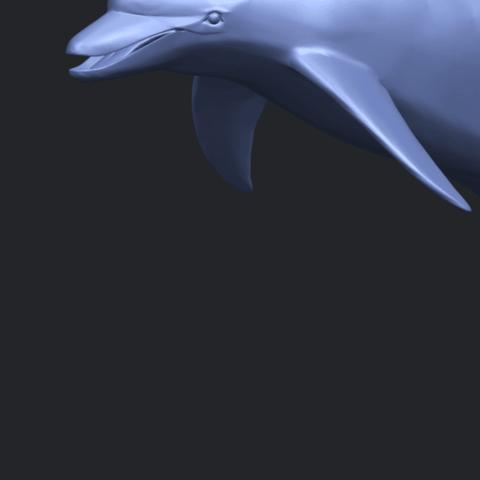 27_TDA0613_Dolphin_03A10.png Télécharger fichier STL gratuit Dauphin 03 • Objet pour impression 3D, GeorgesNikkei