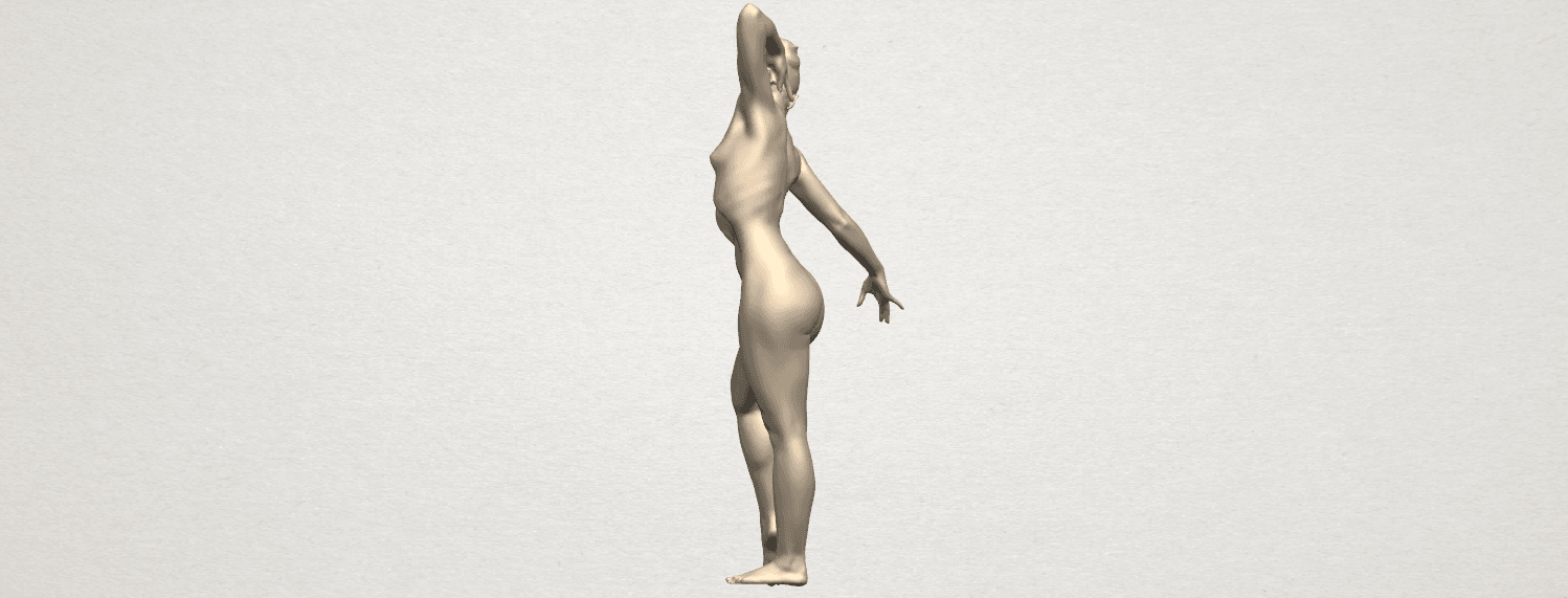TDA0278 Naked Girl A05 03.png Download free STL file Naked Girl A05 • 3D printer template, GeorgesNikkei
