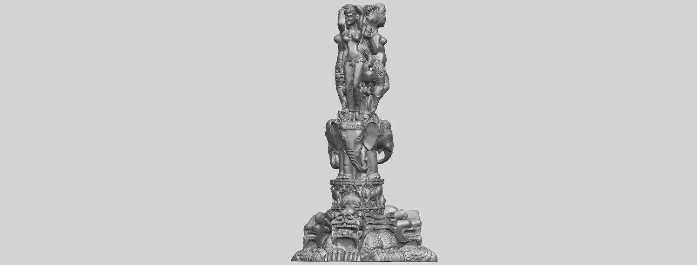 09_Thai_Elephant_Tower_80mm_-_A01A05.png Télécharger fichier STL gratuit Tour de l'éléphant thaïlandais • Modèle pour impression 3D, GeorgesNikkei