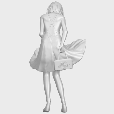 TDA0715_Beautiful_Girl_15A07.png Télécharger fichier STL gratuit Belle Fille 15 ans • Plan pour impression 3D, GeorgesNikkei