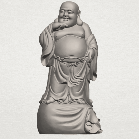 Download free 3D print files Metteyya Buddha 08, GeorgesNikkei