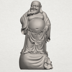 Free 3d printer model Metteyya Buddha 08, GeorgesNikkei