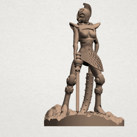 Download free 3D printing designs Beautiful Anime Girls 03, GeorgesNikkei