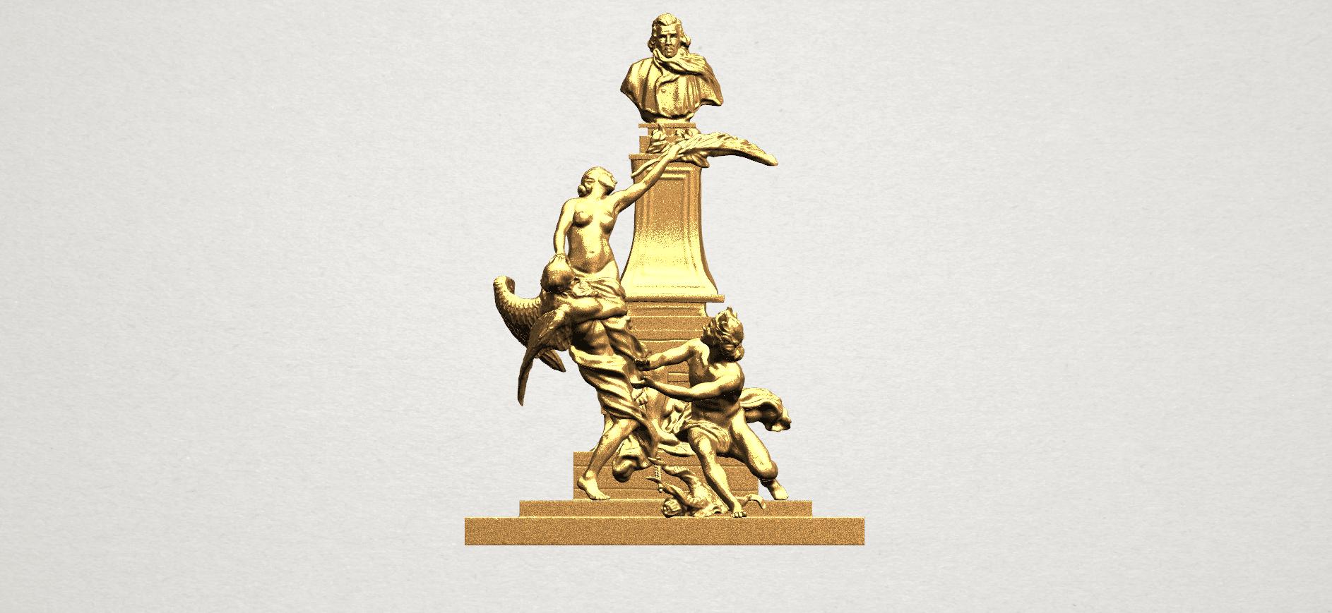 Statue 02 - A01.png Télécharger fichier STL gratuit Statue 02 • Plan pour impression 3D, GeorgesNikkei