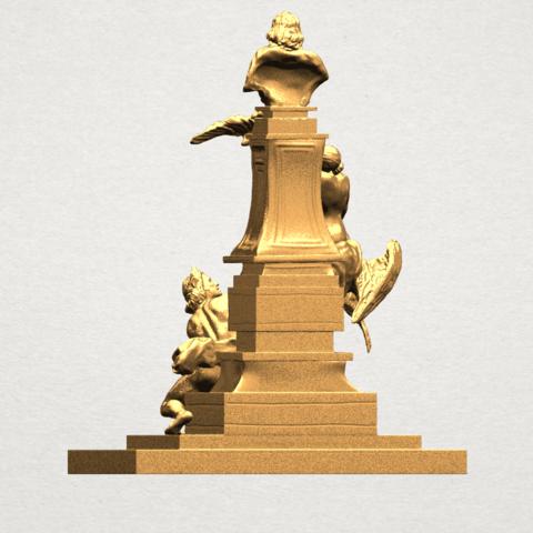 Statue 02 - A05.png Télécharger fichier STL gratuit Statue 02 • Plan pour impression 3D, GeorgesNikkei