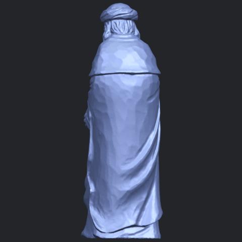 26_Sculpture_of_Arabian_88mm-B05.png Download free STL file Sculpture of Arabian • 3D print template, GeorgesNikkei