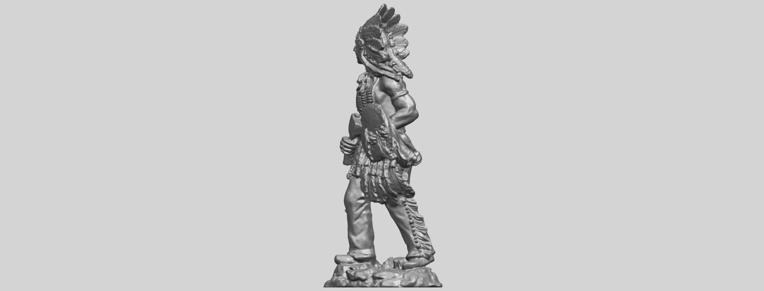 13_TDA0240_Red_IndianA03.png Download free STL file Red Indian • 3D print template, GeorgesNikkei