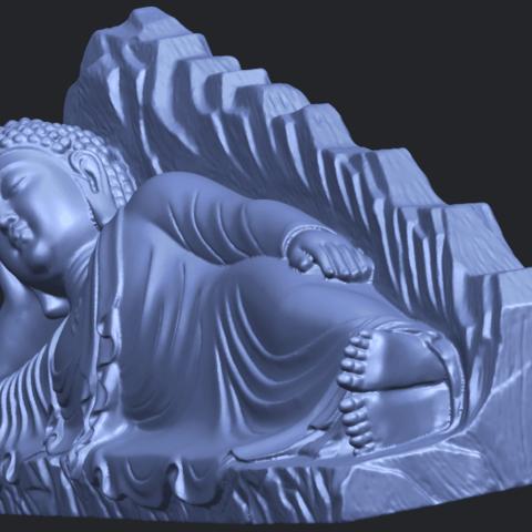 05_TDA0295_Sleeping_Buddha_iiiB03.png Télécharger fichier STL gratuit Bouddha Dormant 03 • Objet à imprimer en 3D, GeorgesNikkei