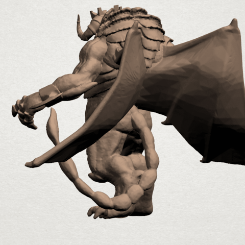 Monster (i) A04.png Download free STL file Monster 01 • 3D printable template, GeorgesNikkei