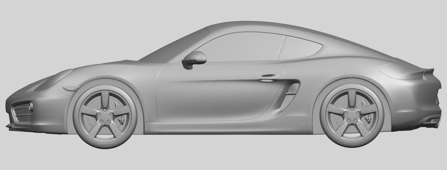 16_TDA0304_Porche_01_Length438mmA01.png Download free STL file Porche 01 • 3D printable object, GeorgesNikkei