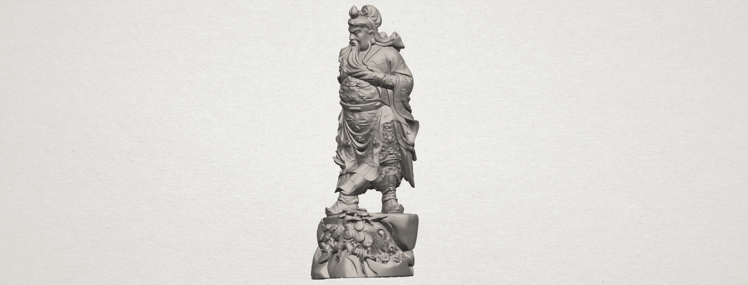 TDA0241 Guan Gong (ii) A02.png Download free STL file Guan Gong 02 • 3D printing template, GeorgesNikkei