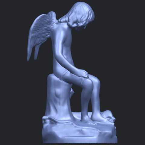 05_Angel_and_Dog_80mmB09.png Download free STL file Angel and Dog • 3D print model, GeorgesNikkei