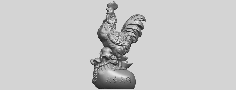 08_TDA0321_CockA01.png Télécharger fichier STL gratuit Coq 01 • Design pour impression 3D, GeorgesNikkei