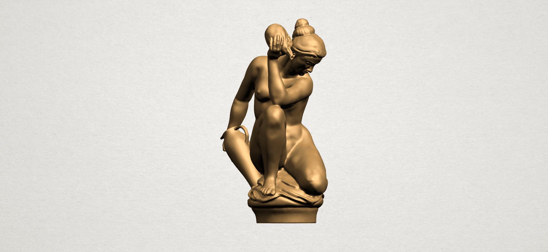 Naked Girl - With Pot - A02.png Télécharger fichier STL gratuit Fille Nue - Avec Pot • Modèle à imprimer en 3D, GeorgesNikkei