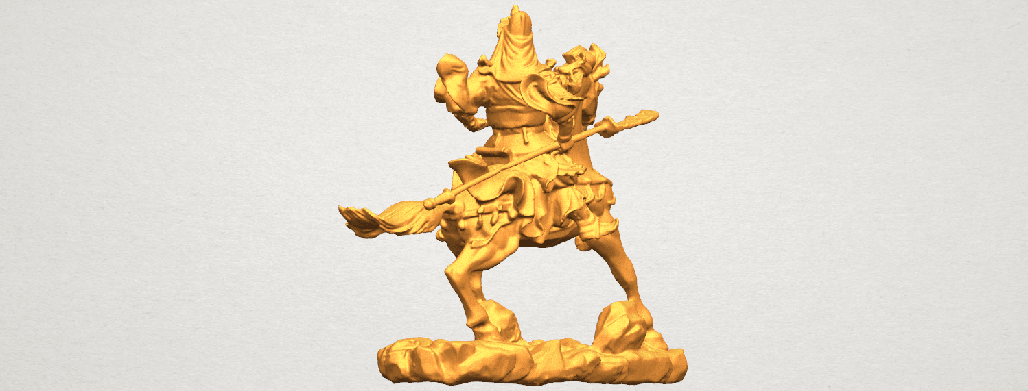 TDA0331 Guan Gong (iv) A03.png Download free STL file Guan Gong 04 • Template to 3D print, GeorgesNikkei