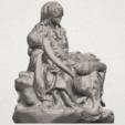 TDA0238 La Pieta A07.png Télécharger fichier STL gratuit La Pieta • Modèle pour impression 3D, GeorgesNikkei