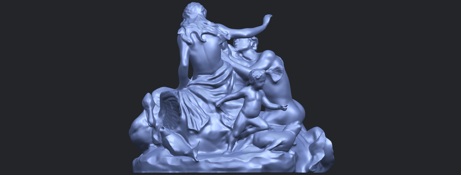 28_TDA0166_Naked_Couple_viB04.png Download free STL file  Naked Couple 06 • 3D printing object, GeorgesNikkei