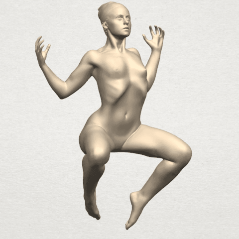 TDA0282 Naked Girl A09 06.png Download free STL file Naked Girl A09 • 3D print object, GeorgesNikkei