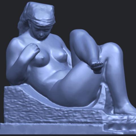 20_TDA0170_Naked_Girl_(xiii)_88mmB02.png Download free STL file Naked Girl 13 • 3D print design, GeorgesNikkei