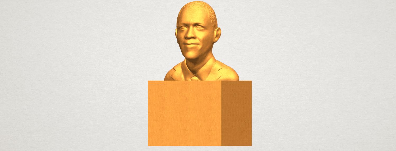 TDA0294 Obama A02.png Download free STL file Obama • 3D print model, GeorgesNikkei