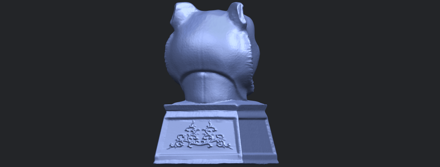 20_TDA0510_Chinese_Horoscope_of_Tiger_02B07.png Download free STL file Chinese Horoscope of Tiger 02 • 3D print object, GeorgesNikkei