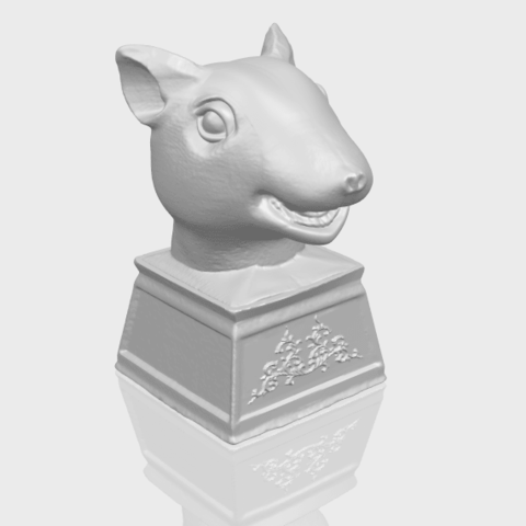 17_TDA0508_Chinese_Horoscope_of_Rat_02A00-1.png Download free STL file Chinese Horoscope of Rat 02 • 3D printable model, GeorgesNikkei