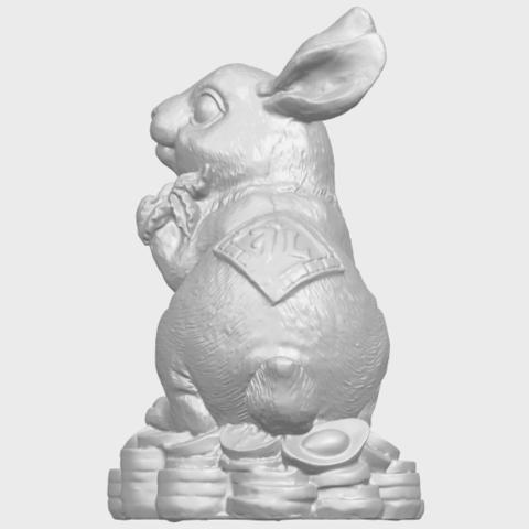 07_TDA0559_Rabbit_02A04.png Télécharger fichier STL gratuit Lapin 02 • Design imprimable en 3D, GeorgesNikkei