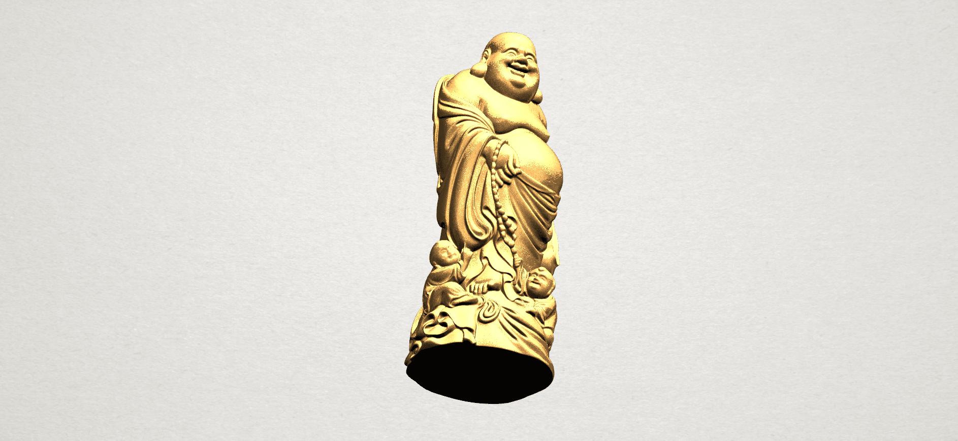TDA0070 Metteyya Buddha 03 - 88mm - A09.png Download free STL file Metteyya Buddha 03 • 3D printing object, GeorgesNikkei