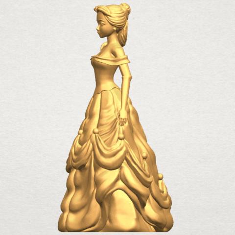 TDA0578 Princess Belle A03.png Télécharger fichier STL gratuit Princesse Belle • Modèle pour impression 3D, GeorgesNikkei