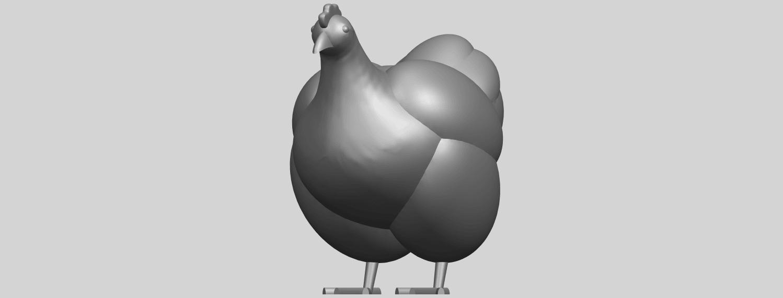 17_TDA0484_HenA02.png Télécharger fichier STL gratuit Poule • Design pour imprimante 3D, GeorgesNikkei