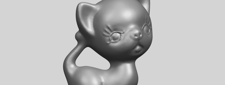 TDA0746_Cat_03A10.png Télécharger fichier STL gratuit Chat 03 • Modèle à imprimer en 3D, GeorgesNikkei