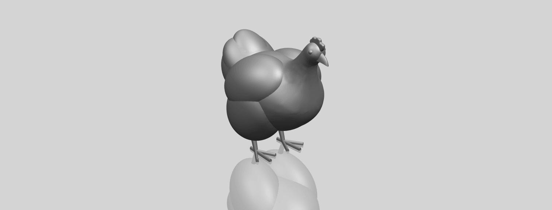 17_TDA0484_HenA00-1.png Télécharger fichier STL gratuit Poule • Design pour imprimante 3D, GeorgesNikkei