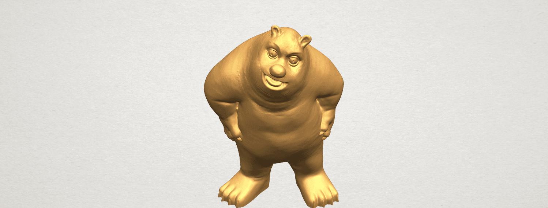 TDA0561 Bear Senior A07.png Télécharger fichier STL gratuit Bear Senior • Plan imprimable en 3D, GeorgesNikkei