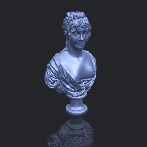 24_TDA0201_Bust_of_a_girl_01B00-1.png Télécharger fichier STL gratuit Buste d'une fille 01 • Modèle à imprimer en 3D, GeorgesNikkei