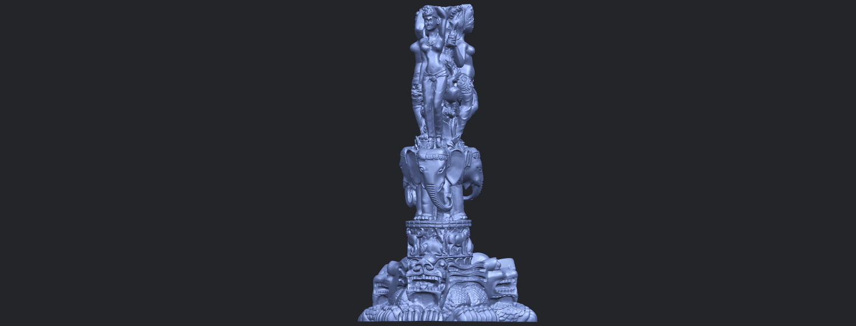 09_Thai_Elephant_Tower_80mm_-_A01B05.png Télécharger fichier STL gratuit Tour de l'éléphant thaïlandais • Modèle pour impression 3D, GeorgesNikkei