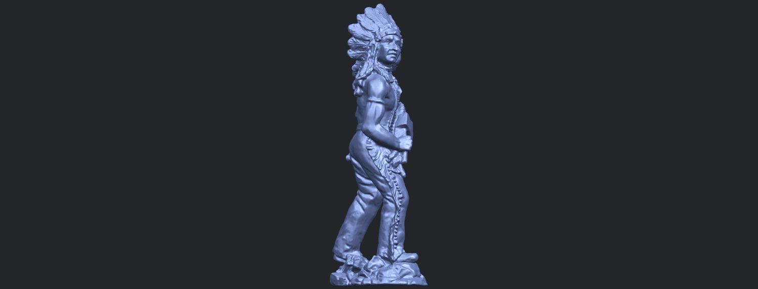 13_TDA0240_Red_IndianB09.png Download free STL file Red Indian • 3D print template, GeorgesNikkei