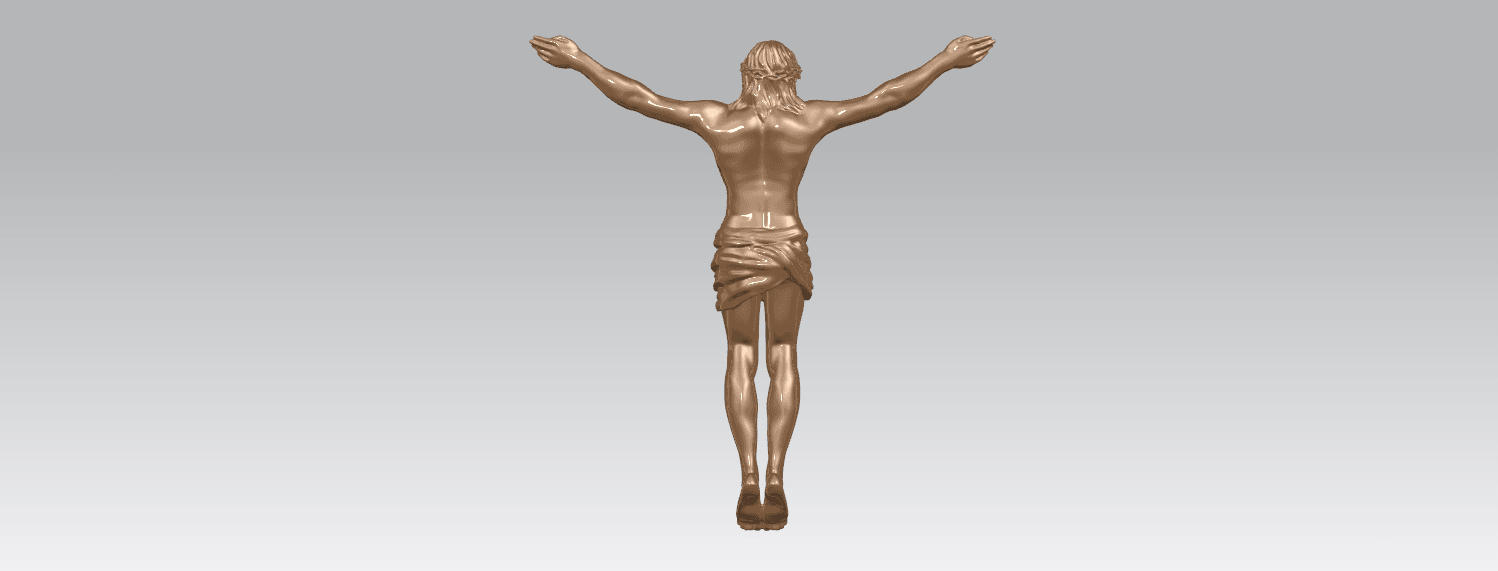 TDA0230 Jesus (i) A04.png Download free STL file Jesus 01 - top • Object to 3D print, GeorgesNikkei
