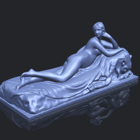 11_Naked_Girl_Lying_on_Bed_i_60mmB00-1.png Download free STL file Naked Girl - Lying on Bed 01 • 3D printable object, GeorgesNikkei