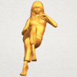 A01.png Download free STL file Naked Girl I05 • Object to 3D print, GeorgesNikkei