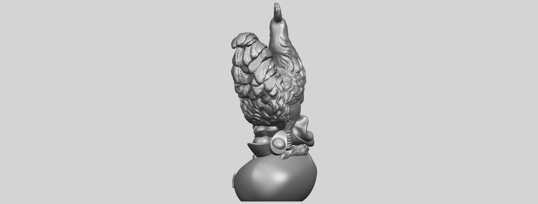08_TDA0321_CockA05.png Télécharger fichier STL gratuit Coq 01 • Design pour impression 3D, GeorgesNikkei