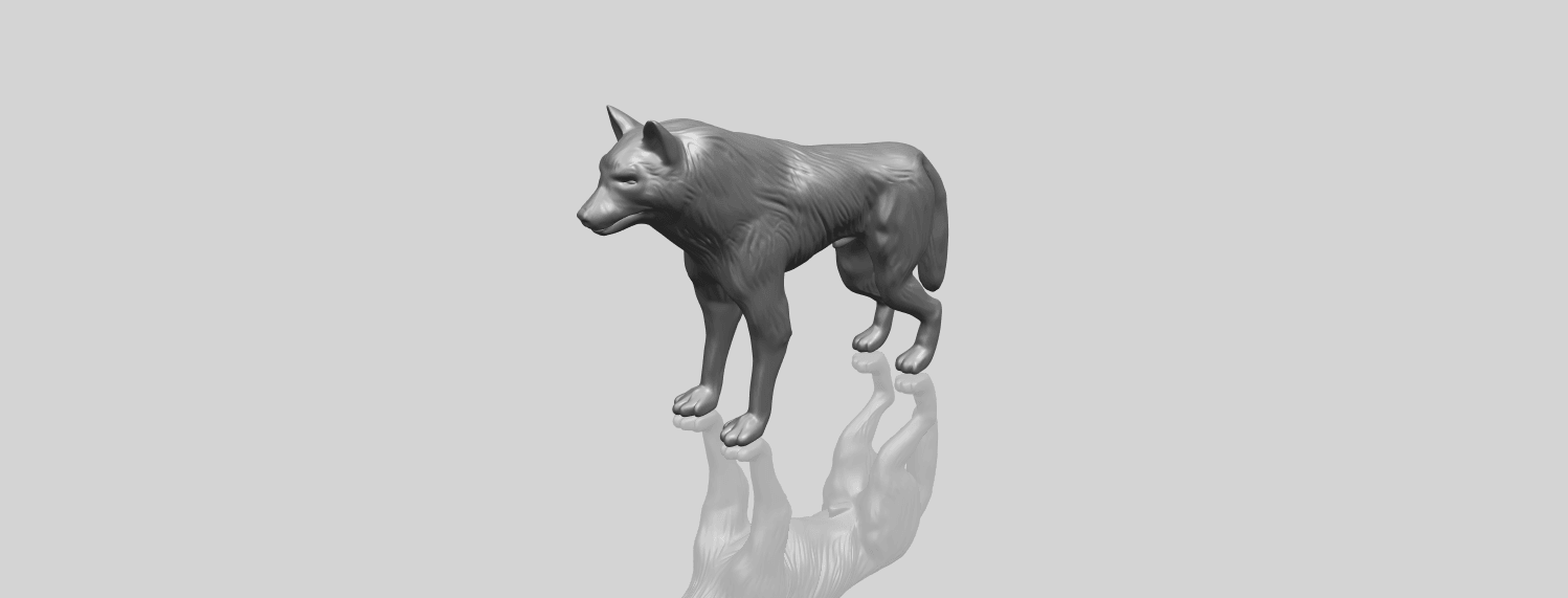14_TDA0610_WolfA00-1.png Download free STL file Wolf • 3D printable design, GeorgesNikkei