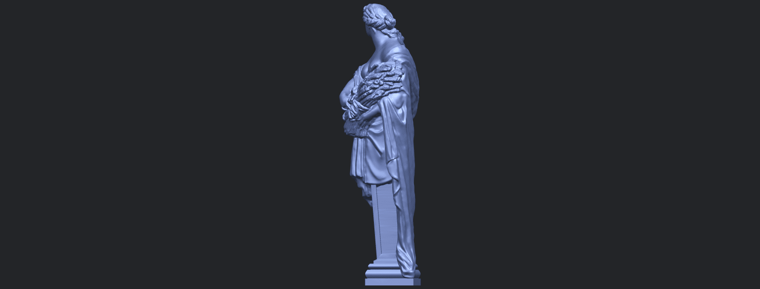 12_TDA0260_Sculpture_AutumnB04.png Download free STL file Sculpture - Autumn • 3D print template, GeorgesNikkei