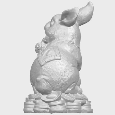 07_TDA0559_Rabbit_02A05.png Télécharger fichier STL gratuit Lapin 02 • Design imprimable en 3D, GeorgesNikkei