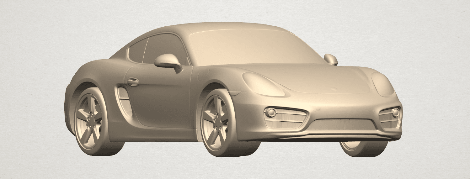 TDA0304 Porche 01 Length438mm A06.png Download free STL file Porche 01 • 3D printable object, GeorgesNikkei
