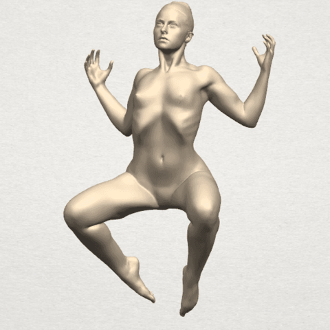 TDA0282 Naked Girl A09 01.png Download free STL file Naked Girl A09 • 3D print object, GeorgesNikkei