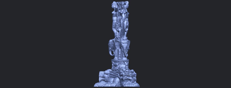 09_Thai_Elephant_Tower_80mm_-_A01B04.png Télécharger fichier STL gratuit Tour de l'éléphant thaïlandais • Modèle pour impression 3D, GeorgesNikkei