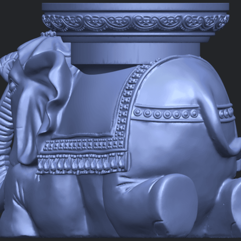 11_TDA0501_Elephant_TableB04.png Download free STL file Elephant Table • 3D printing object, GeorgesNikkei