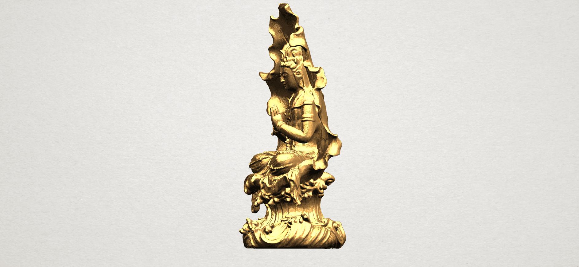 Avalokitesvara Buddha (with Lotus Leave) (ii) A03.png Download free STL file Avalokitesvara Buddha (with Lotus Leave) 02 • Model to 3D print, GeorgesNikkei