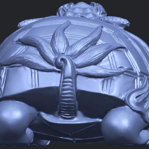 01_TDA0333_Dragon_TortoiseB04.png Télécharger fichier STL gratuit Tortue dragon • Objet imprimable en 3D, GeorgesNikkei